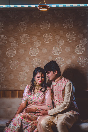 Pooja & Anadi Engagement