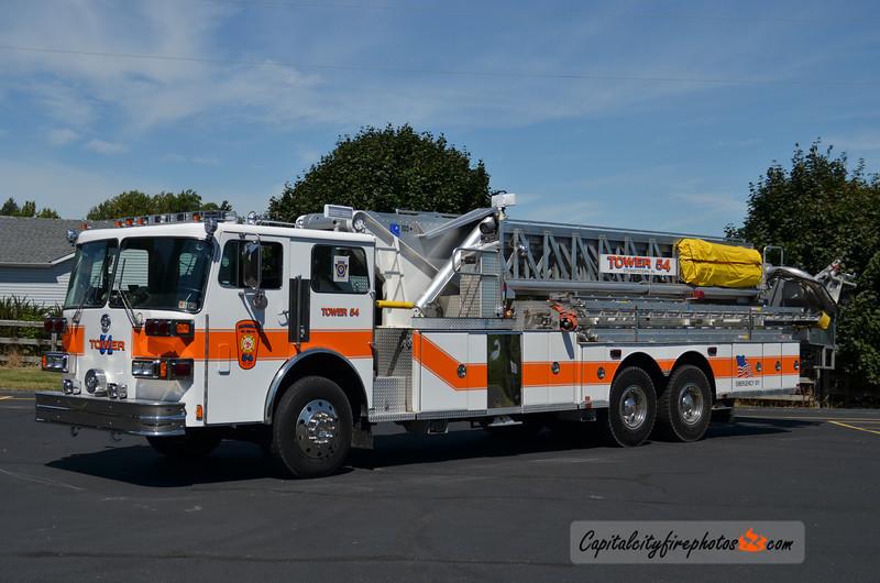 Stewartstown (Eureka Fire Co.) Truck 54: 1983 Sutphen 1250/300 95' (X-Edina, MN)