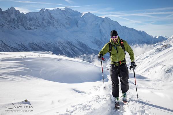 CHAMEX Ski Tour Course