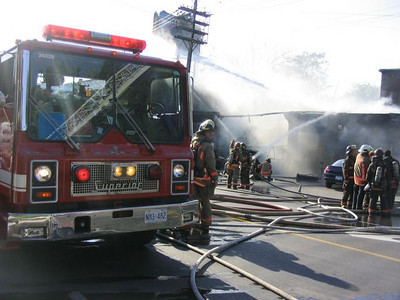 July 10, 2005 - 3rd Alarm - 1130 Davenport Rd.