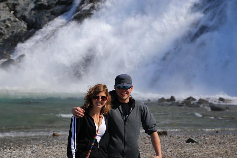 Mendenhall Glacier outside Juneau.