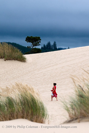Lady in the Dunes