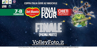 FINALE COPPA ITALIA A2M 2015 (prima parte)