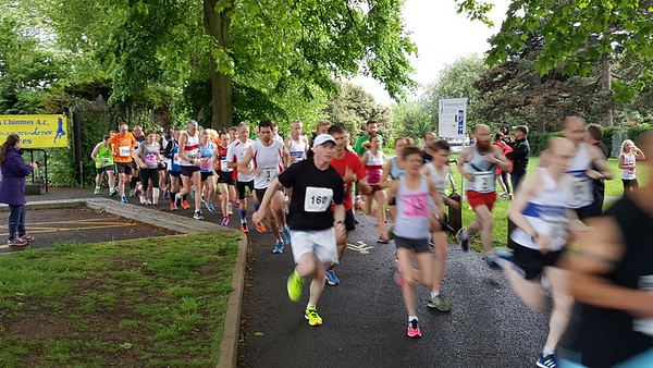2 Mile Race, Eastville Park, May 2017