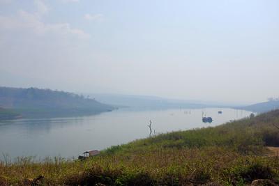 Bhumipol dam lake