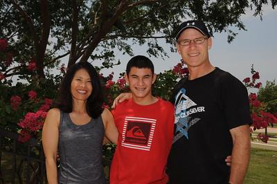 7-9-2011 Judy, Steve & Scott Cohen @ DFW