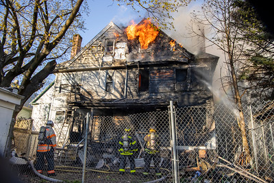 Park Ave. 3rd Alarm Fire (Bridgeport, CT) 4/26/21