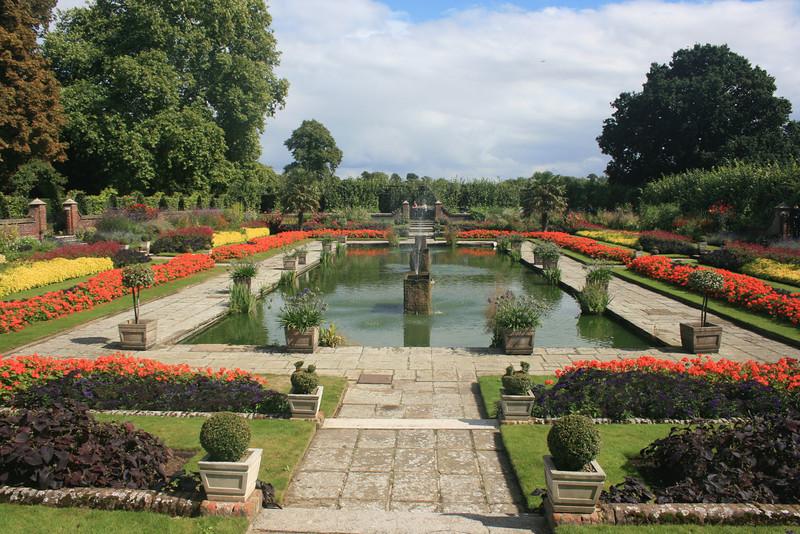 Sunken Garden, Kensington Palace.