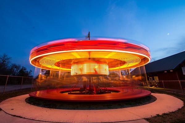 Kiddie Park Carousel