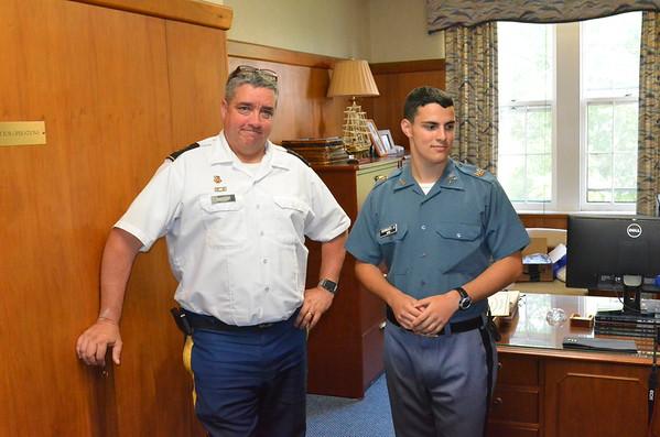 Cadet Henriques Receives Award