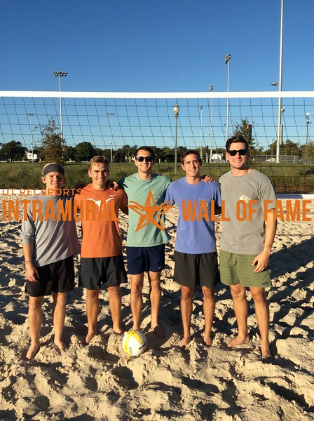 Fall 2017 Sand Volleyball Men's Champion Scooby Doo is Selfish