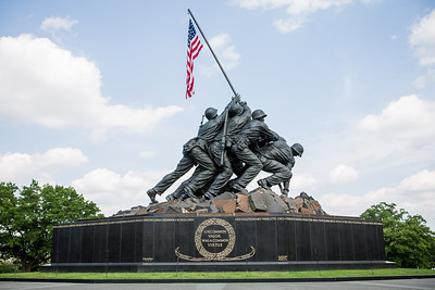 Honor Flight Houston - Marine Corp Memorial