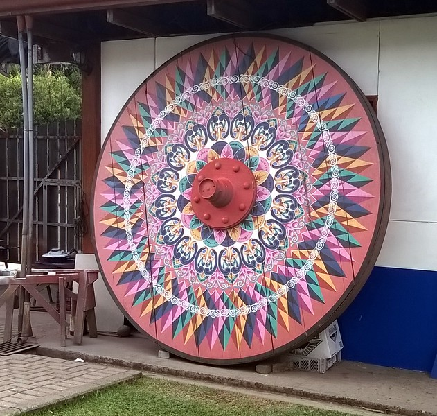 One of the largest wheel ever made.