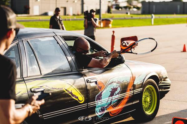 Street Outlaws BassAckwards Race