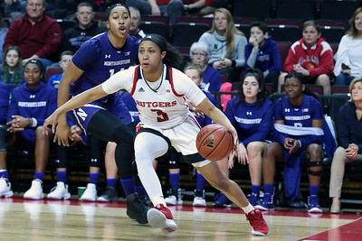 Rutgers vs Northwestern women's basketball on 12/27/18