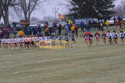 Mens 10K Race - 2000 NCAA D1 Cross Country Championships