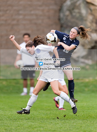 11/02/2016 - Girls Varsity Soccer - Phillips Andover vs Nobles