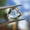 3.46ct Portrait Rose Cut Trapezoid Diamond GIA UV VVS2 25