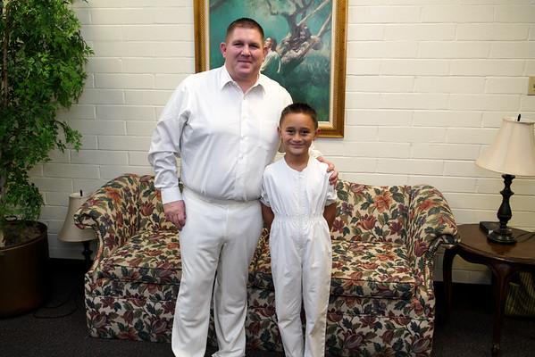 RJ Paddock's Baptism Dec 2015
