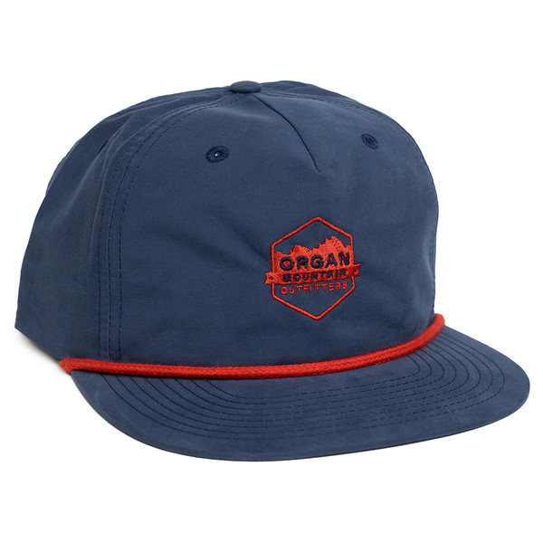 Outdoor Apparel - Organ Mountain Outfitters - Hat - Vintage Snapback - Navy.jpg