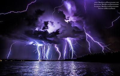 2015 Thunderstorms & Lightning Displays