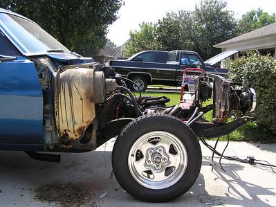 Motor and suspension teardown and rebuild
