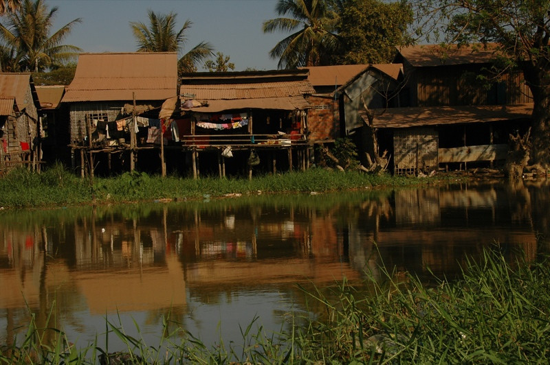 River Life - Siem Reap, Cambodia