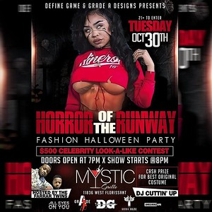 Walk This Way Magazine: Presents Horror Of The Runway
