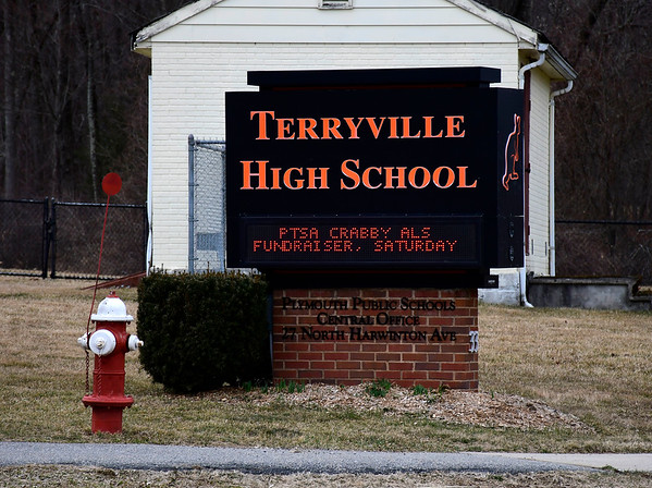 3/12/2020 Mike Orazzi | Staff Terryville High School in Plymouth.