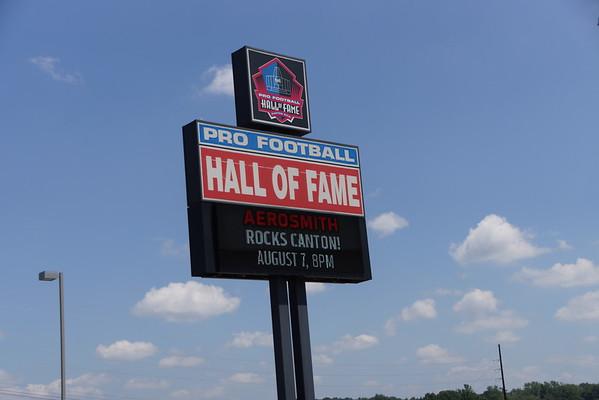 2015 NFL Hall of Fame Visit
