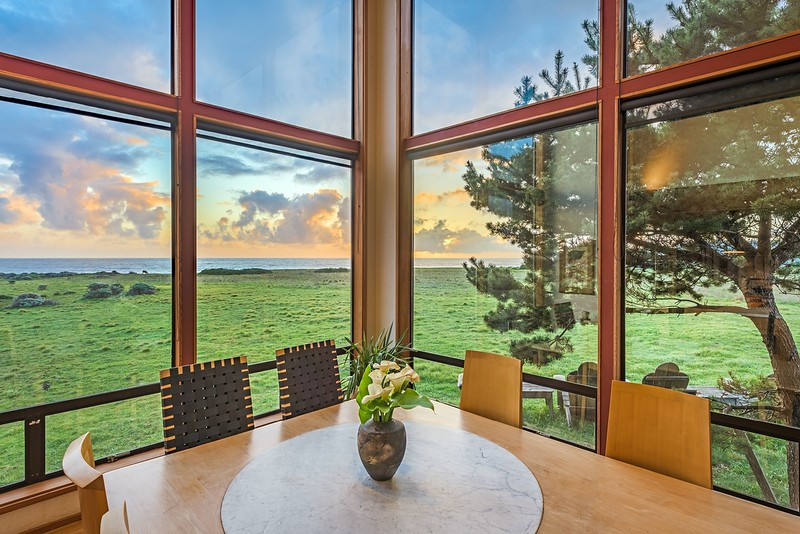 Dining Room at Sunset