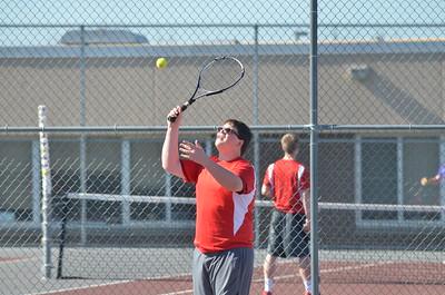 Boys Tennis vs WHS 4-20-16
