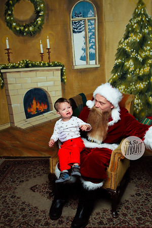 Photos with Santa Gezellig