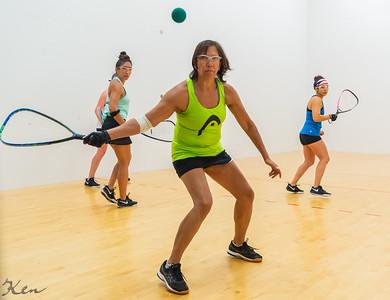 2019-09-28 Women's Doubles - Open - A Kelani Bailey Lawrence - Malia Bailey - W vs. Abigail Mann - Christine Torres