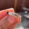 1.28ctw Asscher Cut Diamond 5-Stone Band, 18kt Rose Gold 11