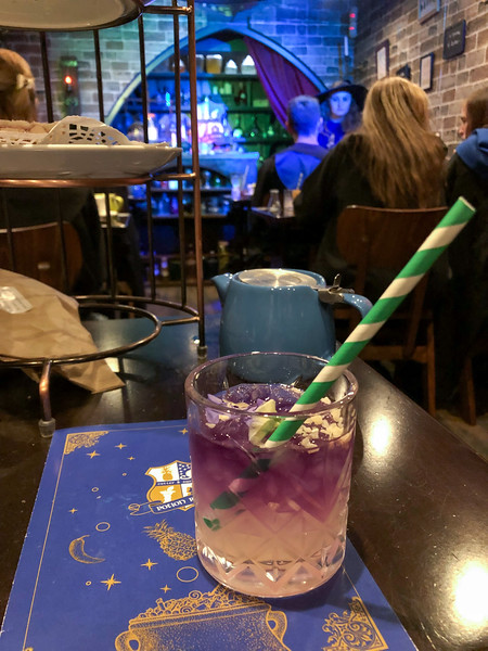 Harry Potter Potion Room tea in London