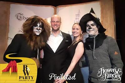 PixiTAB | Pratt Contemporaries Black & White Party 2020 01.25.20