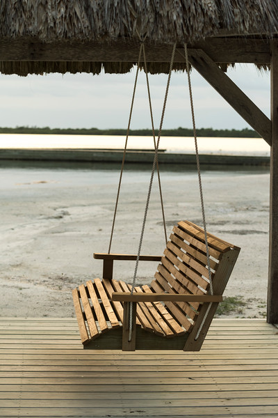 Chair Swing on the beach, Belize