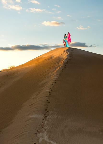 Princess Jasmine in the Sand
