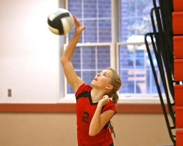8th  Grade Outlaw Volleyball 10-17-2016