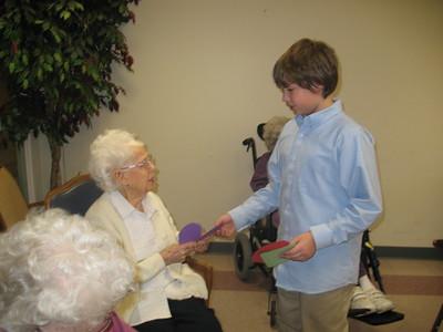 valentines to nursing home