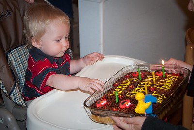 Connors 1st Birthday