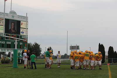 Freshman grn & wht game 8-20-10