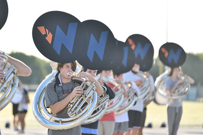 2020-09-25, Last rehearsal before first football game