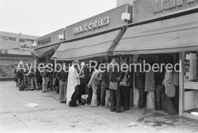 Queue in Friars Square, June 4th 1979