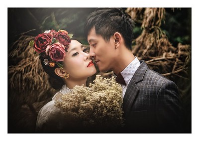 prewedding - all you need is flower