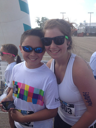 Color Run on MOther's Day 2014