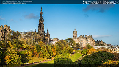 Edinburgh Autumn