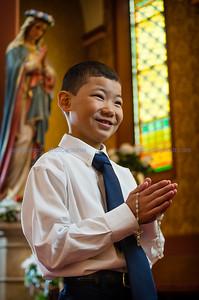 First Communion, 5.7.17