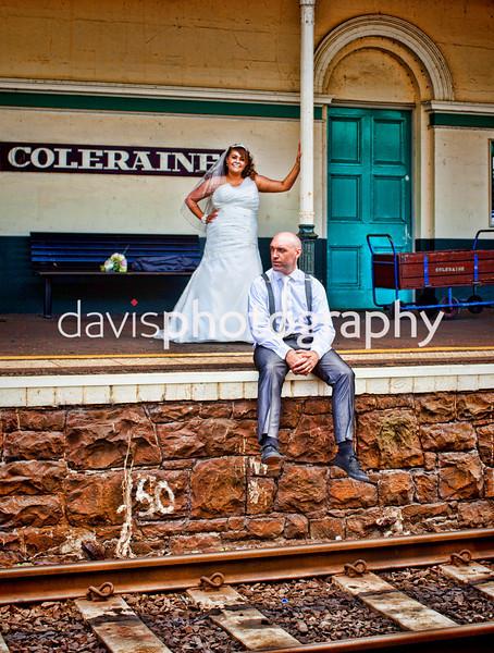 Sam & John Lodge Hotel Coleraine Wedding Photography